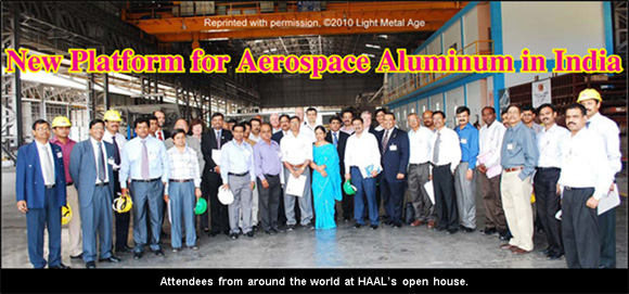 Hindalco-Almex Aerospace Limited, A New Platform for Aerospace Aluminum in India