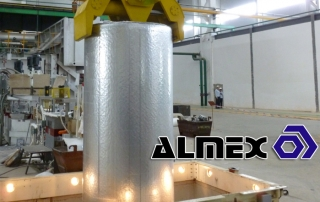 Almex Sets World Record in Large Diameter Billet Casting with 52 inch Mold Technology