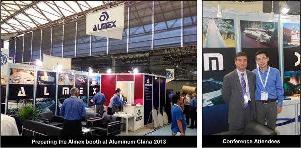 """Almex USA Inc. Featured Exhibitor at """"Aluminum 2013"""" Exhibition in Shanghai, China"""