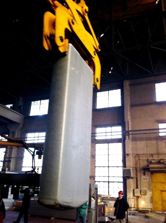 aluminum slab casting tooling